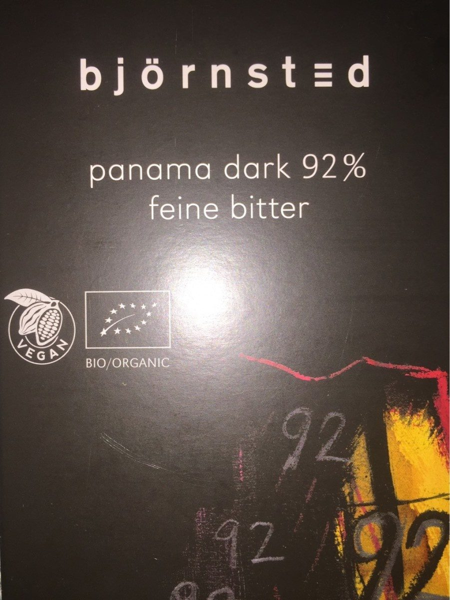 Panama dark 92% - Product