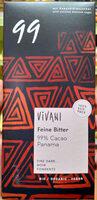 Feine Bitter 99% Cacao Panama - Product - de
