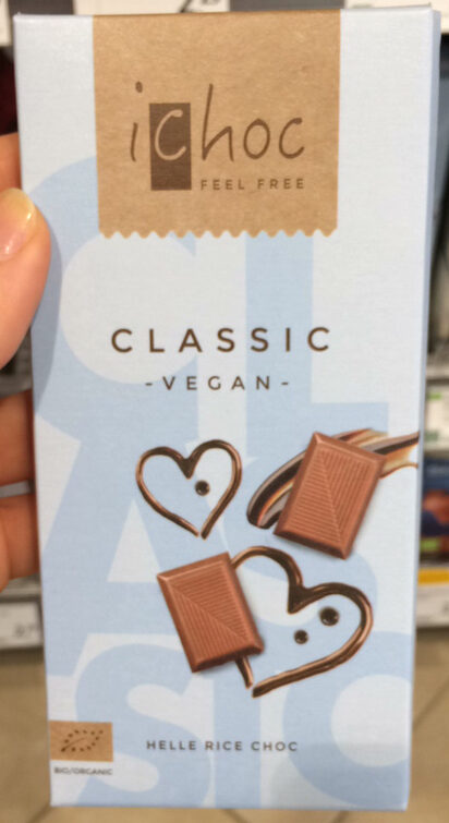 Ichoc Milkless - Rice Choc Classic, 80 GR Stück -vegan - Product