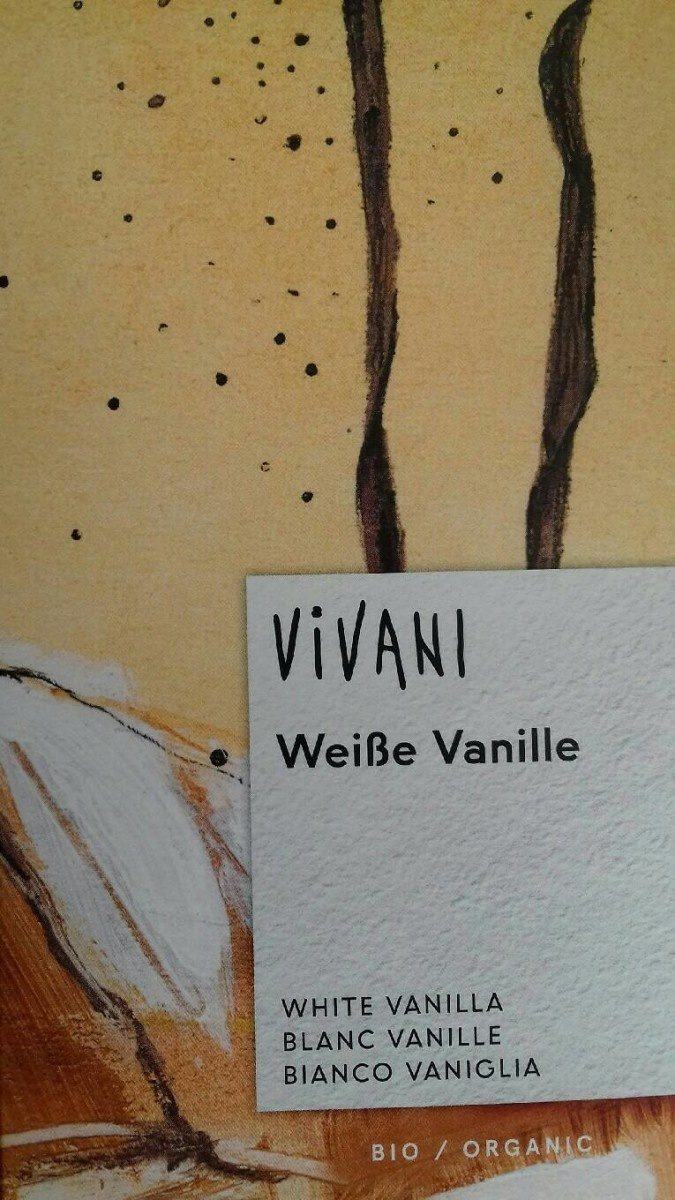 Weiße Vanille - Product