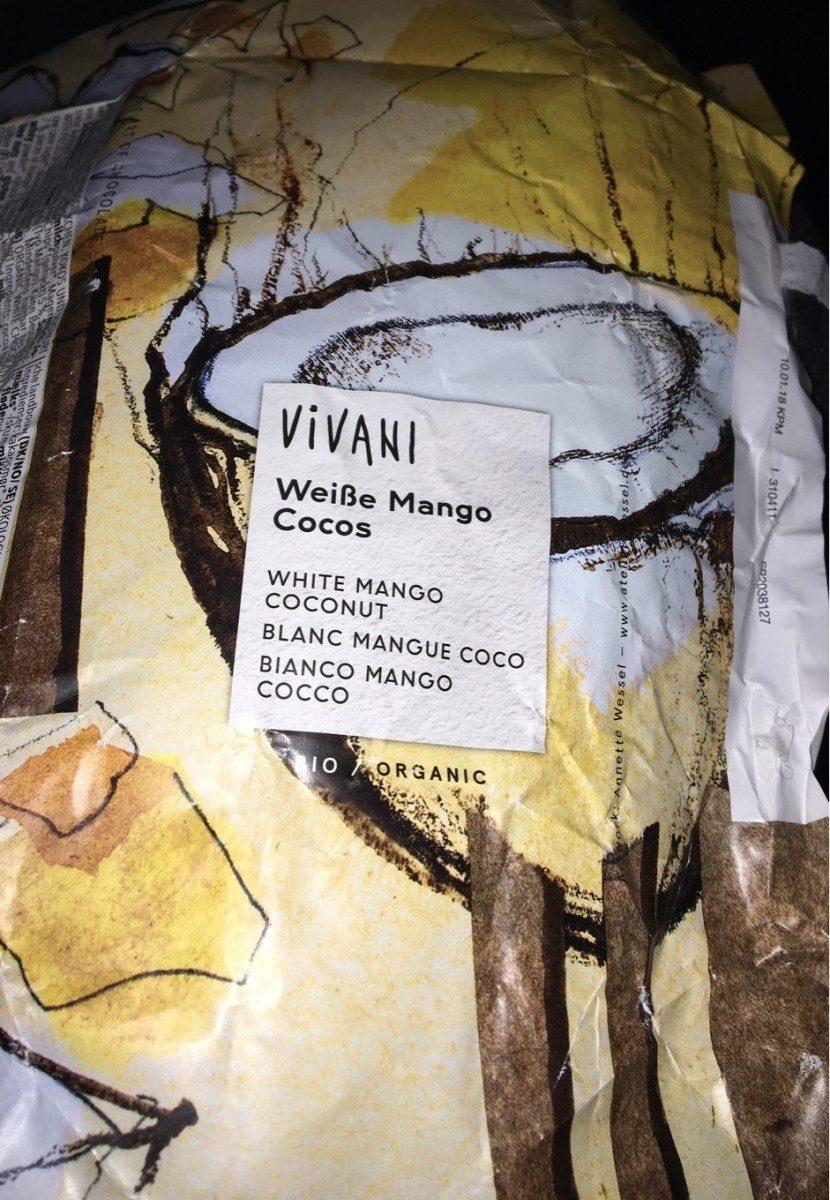 Chocolate blanco mango coco - Product