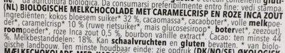 Caramel Inka Salz - Ingrediënten - nl