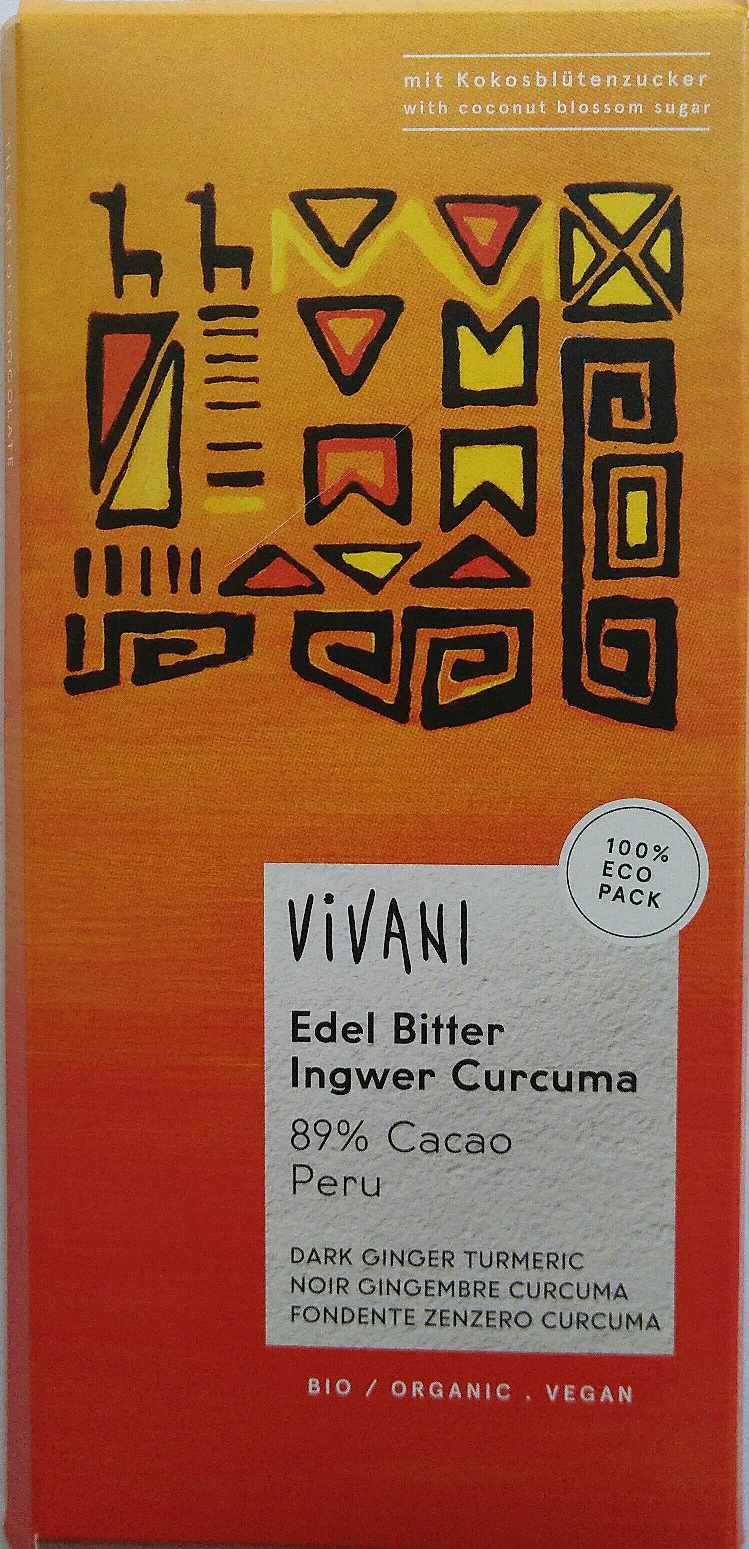 Edel Bitter Ingwer Curcuma - Produkt - cs