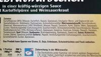 rostbratwurstchen - Ingrédients - de