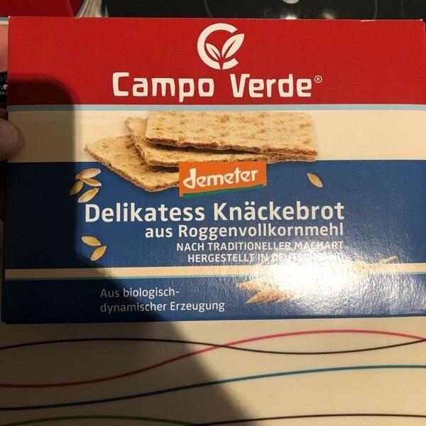 Delikatess Knäckebrot - Produit - en