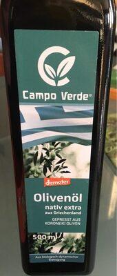 Bio Olivenöl Nativ Extra - Produit - fr