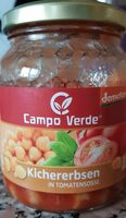 Demeter Campo Verde Kichererbsen In Tomatensoße - Prodotto - fr