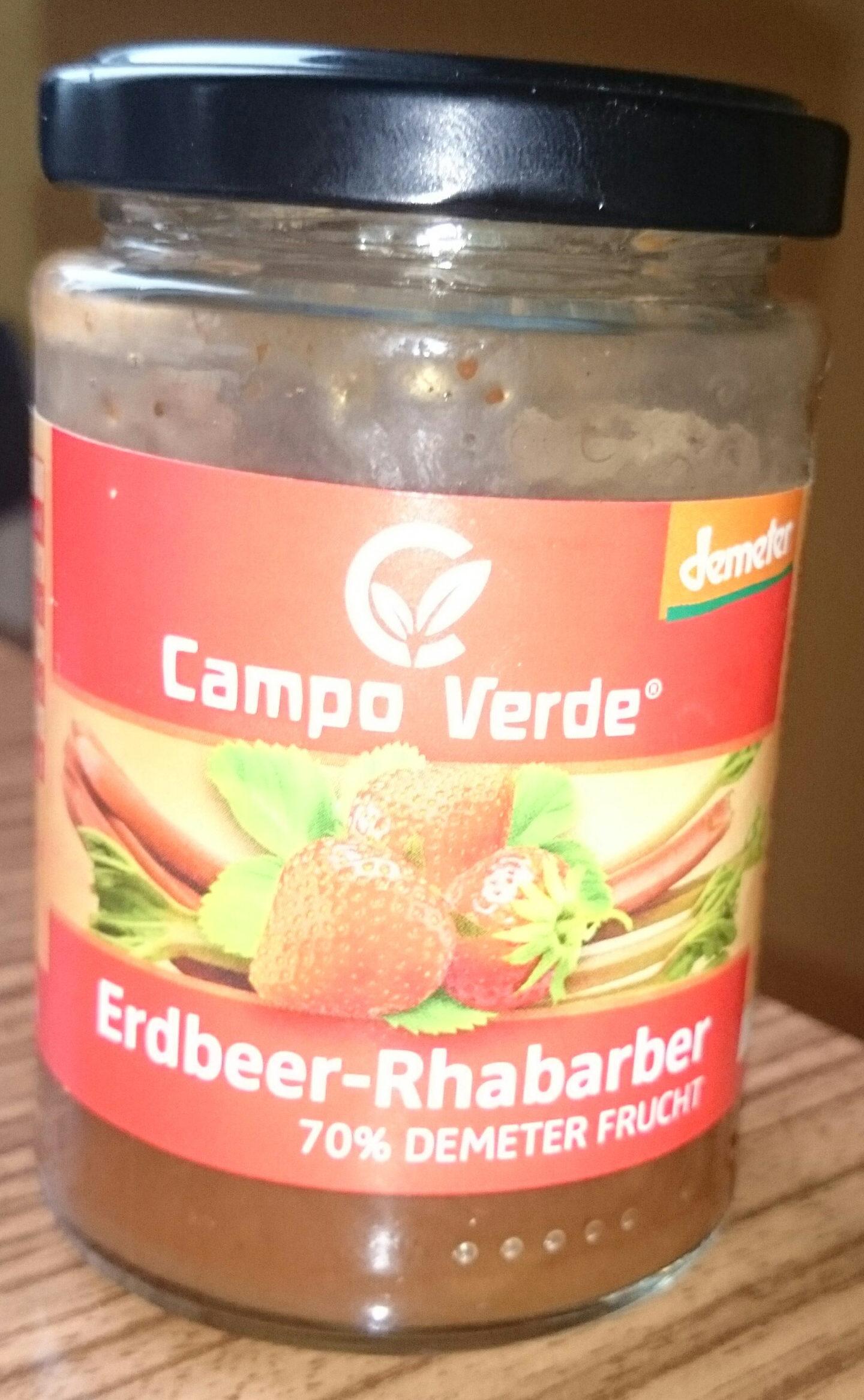Erdbeer-Rhabarber Marmelade - Produit