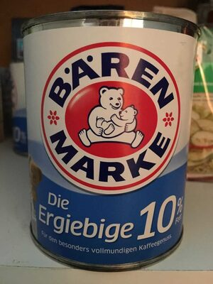 Bärenmarke Kaffeesahne - Produit