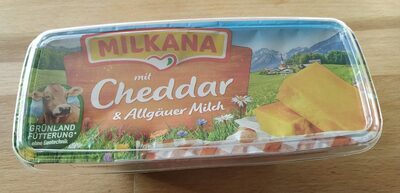Milkana mit Cheddar & Allgäuer Milch - Produkt - en