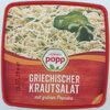 Griechischer Krautsalat mit grüner Paprika. Salat - Produit