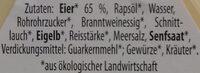 Bio Eiersalat - Ingredients - de