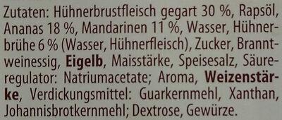 Feinster Geflügelsalat - Ingredients - de