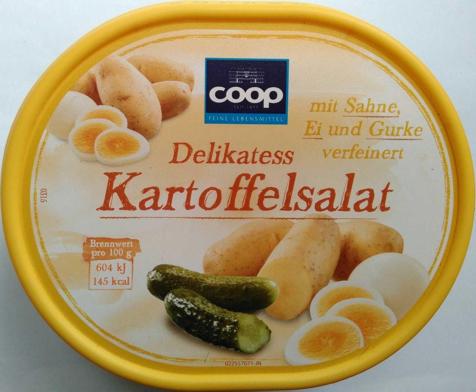 Delikatess Kartoffelsalat - Produit - de