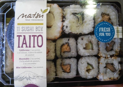 11 Sushi Box Taito - Product