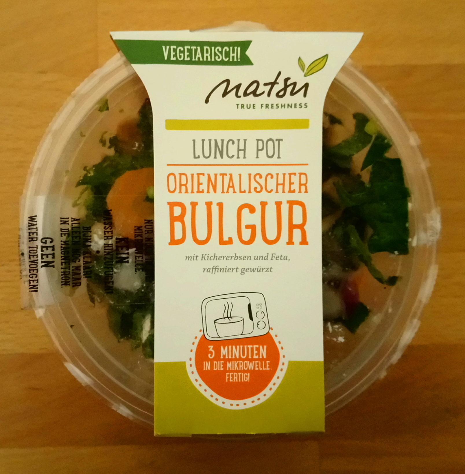 Lunch Pot orientalischer Bulgur - Produit