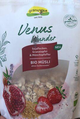 Venus wunder muesli ecológico con copos de soja,