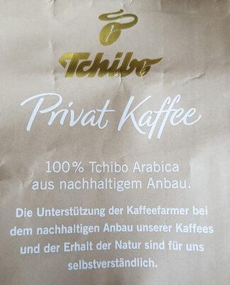Privat Kaffee Ursprung Äthiopien - Ingrédients