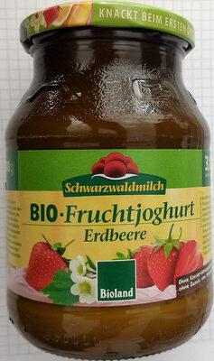 BIO-Fruchtjoghurt Erdbeere - Produkt