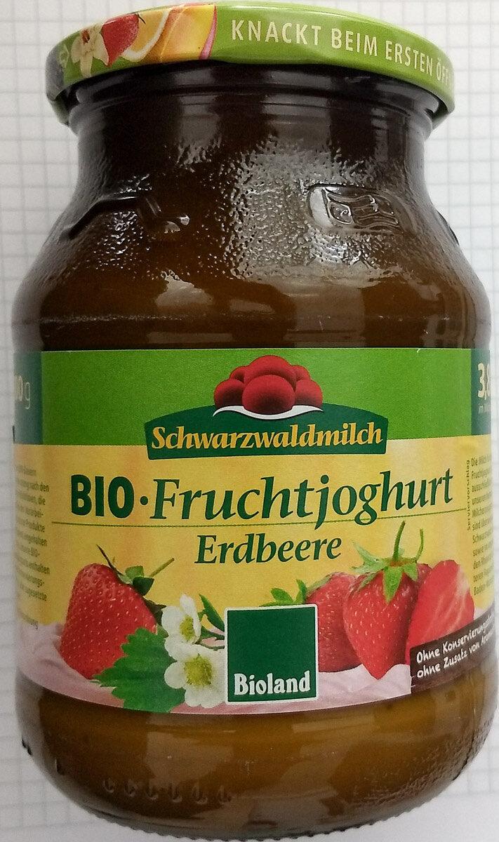 BIO-Fruchtjoghurt Erdbeere - Produkt - de