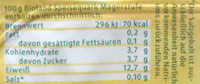BIO Speisequark - Nährwertangaben - de