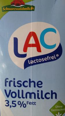 LAC lactosefrei frische Vollmilch 3,5% - Produkt - de