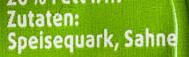 Speisequark - Zutaten - de