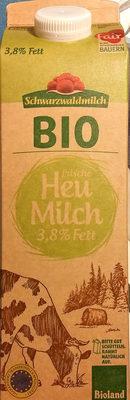 frische Heumilch 3,8% Fett - Product - de