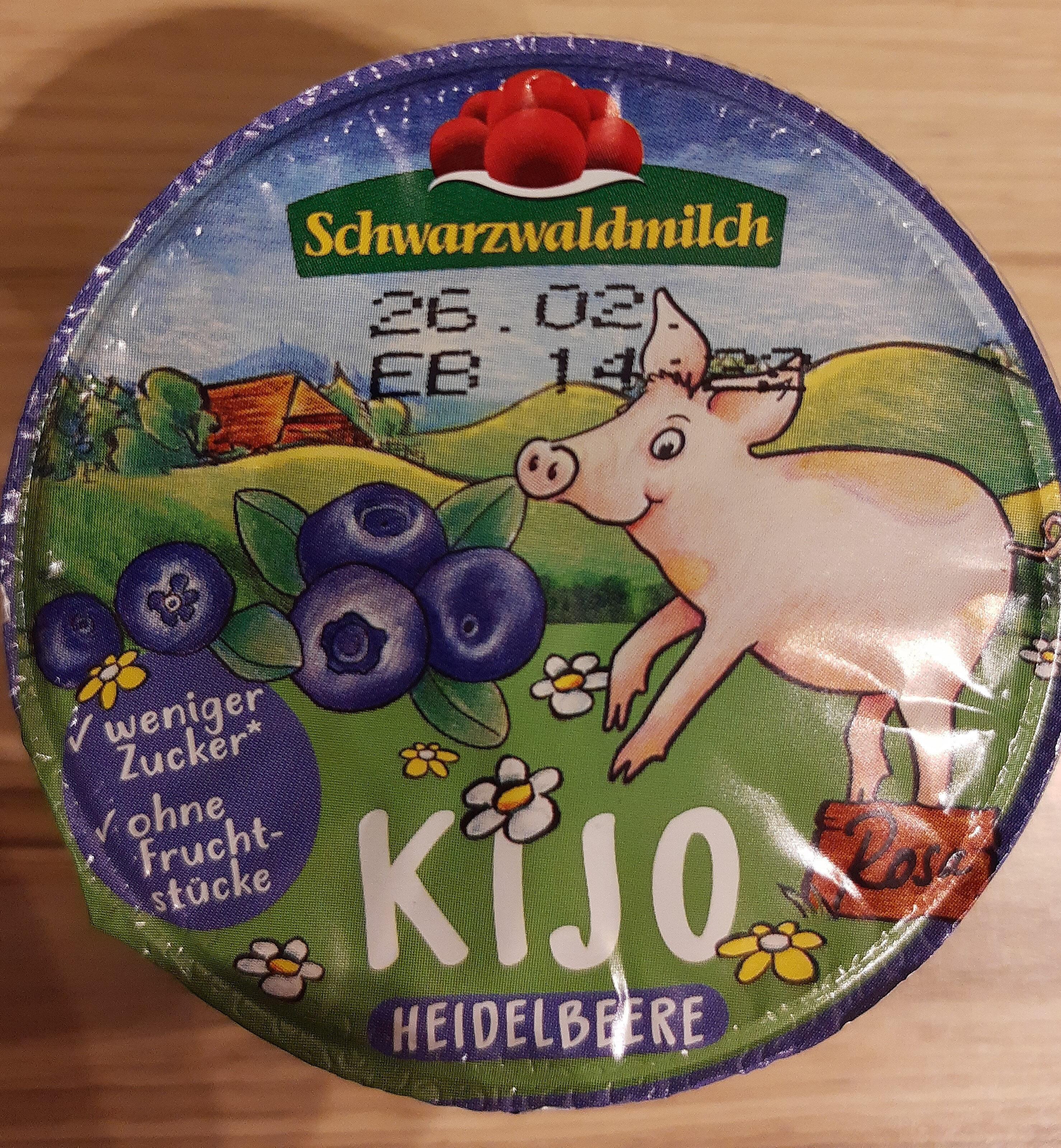 Schwarzwaldmilch  Kijo Heidelbeere - Produkt - de