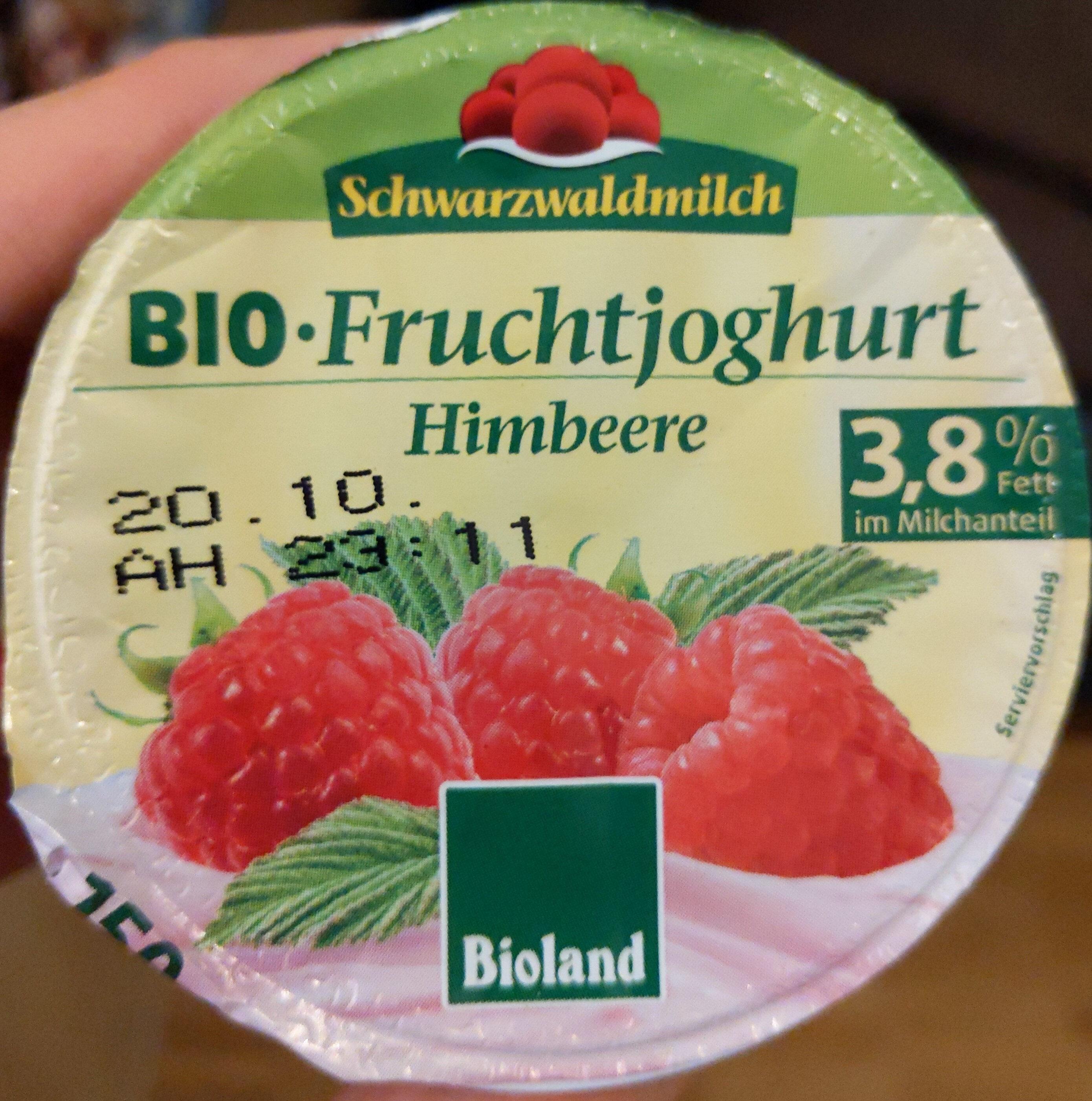 Bio Fruchtjoghurt Himbeere - Produit - de