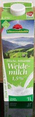 Frische, fettarme Weidemilch 1,5% Fett - Produkt - de