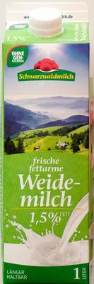 Frische fettarme Weidemilch - Product