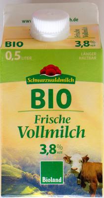 BIO Frische Vollmilch - Product