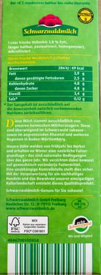 Frische Weidemilch - 1