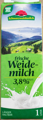 Frische Weidemilch - Produkt