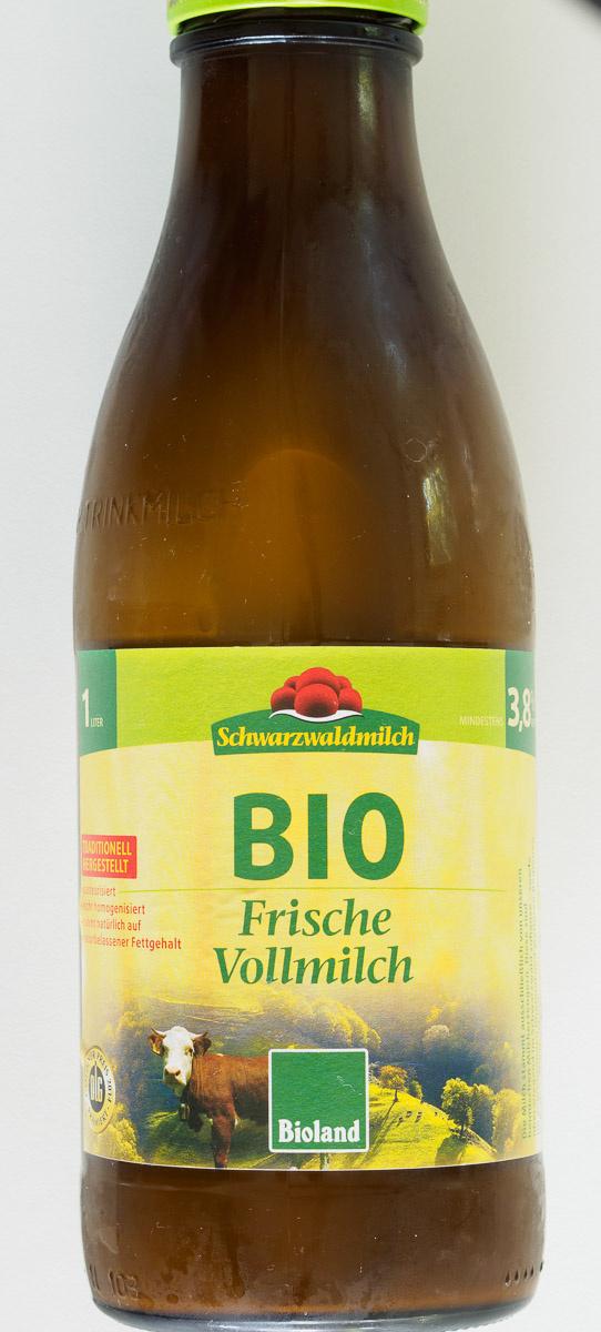 BIO Frische Vollmilch - Produkt - de