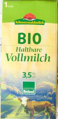 Bio Haltbare Vollmilch - Produkt - de