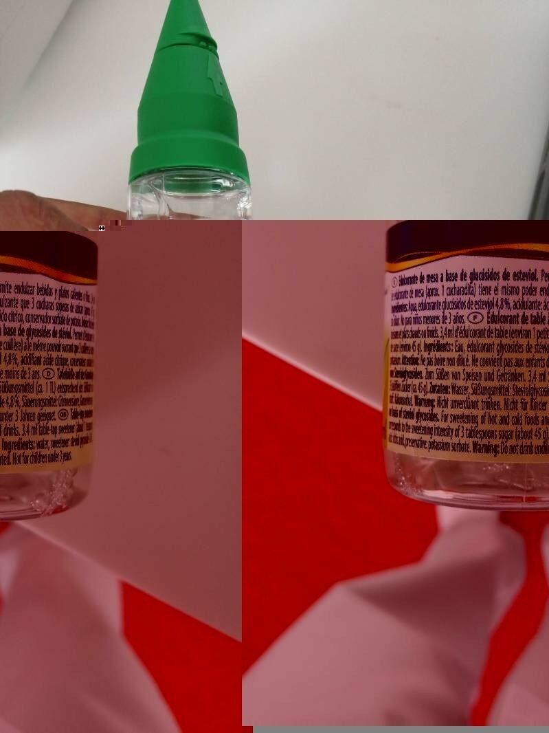 Sugarel - Ingredientes - es