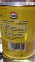 Keimöl - Ingrediënten