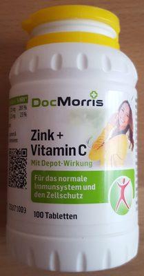 Zink + Vitamin C - Produkt