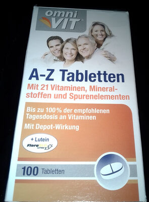 A-Z Tabletten - Product - fr