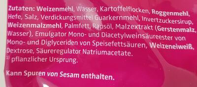 Rosenbrötchen - Ingrédients - de
