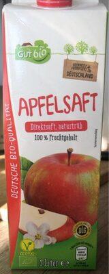 Apfelsaft Direktsaft, naturtrüb (Gut bio) - Product - en
