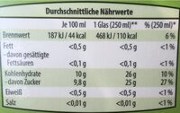 Apfelsaft Direktsaft, naturtrüb (Gut bio) - Nutrition facts - en