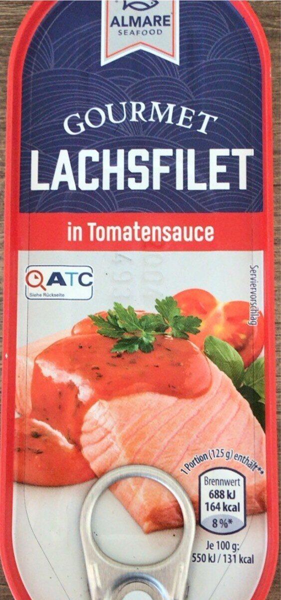 Gourmet Lachsfilet in Tomatensauce - Prodotto - de