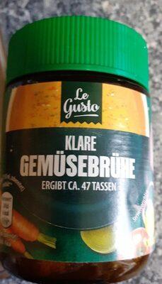 Klare Gemüsebrühe - Produkt - de