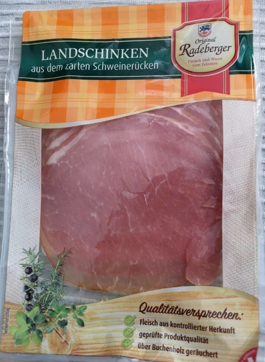 Radeberger Landschinken - Produkt - de