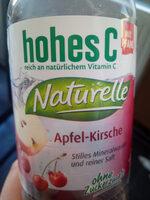 Naturelle Apfel-Kirsche - Product - de