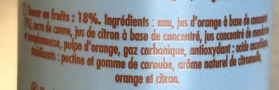 Limo - Ingrédients - fr