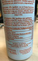 Limo - Informations nutritionnelles - fr